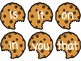 Cookie Crunch Sightwords