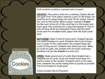 Cookie Crunch! ee ea Word Games
