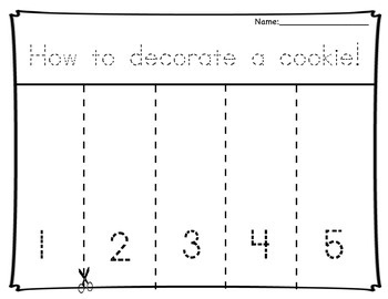 Cookie Decorating Sequence