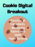Function of Ingredients: Cookie Digital Breakout / Escape Room! FACS, Culinary