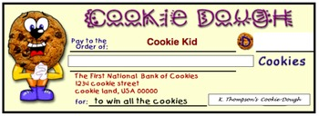 Cookie Dough Place Value Checks
