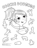 Cookie Doughga Coloring Page