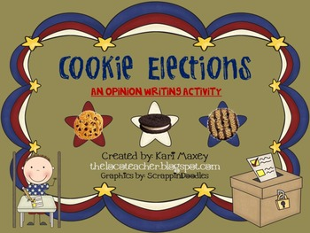Cookie Election - Opinion Writing