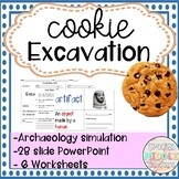 Cookie Excavation Archaeology Simulation History Activity for Special Education