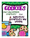 Fact and Opinion Craftivity and Adjectives Craftivity