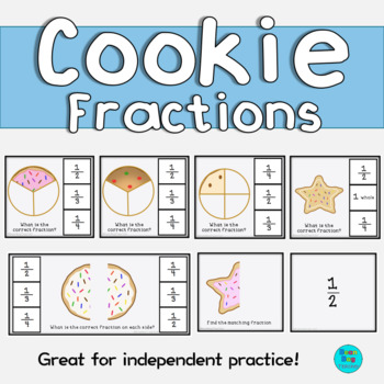 Cookie Fractions | Halves, Thirds and Quarters