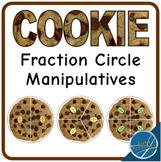 Cookie Fraction Circle Manipulatives