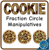 Cookie Fraction Circle Manipulatives