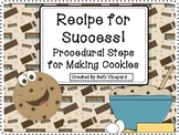Cookie  HOW TO /Procedural Writing FREEBIE!