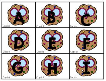 Cookie Jar Alphabet & Numbers 0-50 EDITABLE