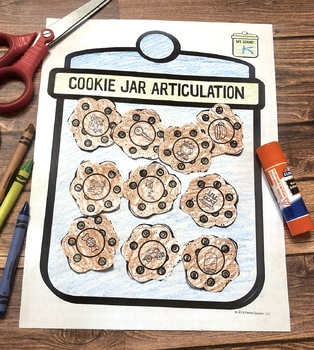 Cookie Jar Articulation: A Speech Therapy Craft Activity