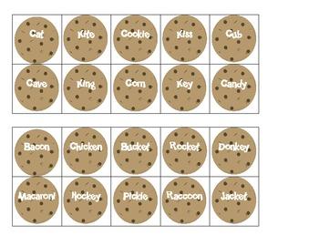 Cookie Jar Articulation- FREEBIE!!