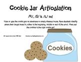 Cookie Jar Articulation- /R/, /S/, & /L/