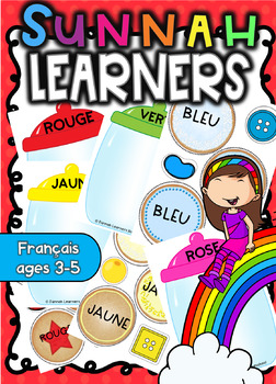 Cookie Jar Colors -Français ( Sunnah Learners)