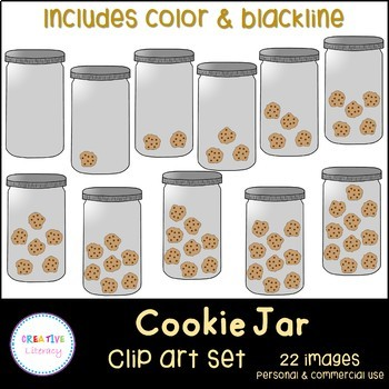 Cookie Jar Counting Clip Art
