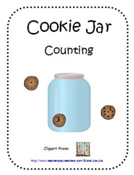 Cookie Jar Counting File Folder Game