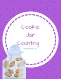 Cookie Jar Counting: File Folder Game