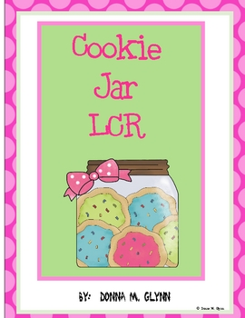 Cookie Jar: LCR (LEFT, RIGHT, CENTER)
