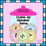Cookie Jar Letter Sort Game for Preschool, PreK, Homeschool, and K