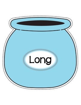 Cookie Jar- Long and Short Vowel Sounds