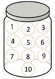 Cookie Jar  Matching Numbers
