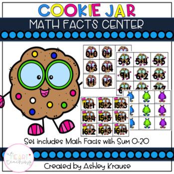 Cookie Jar Math Facts Addition 0-20