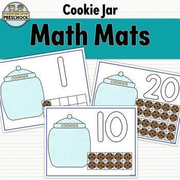 Cookie Jar Math Mats