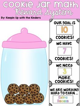 Cookie Jar Math Reward System (Editable)