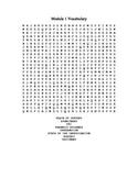Cookie Jar Mystery - Module 1 Word Find