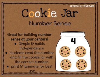 Cookie Jar Number Sense