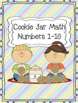 Cookie Jar Numbers 1-10