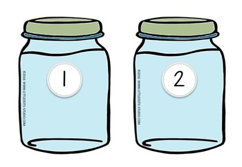 picture about Jar Printable known as Cookie Jar Figures Matching Printable