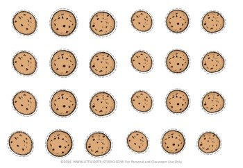 photograph about Cookie Printable named Cookie Jar Figures Matching Printable
