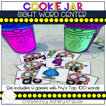 Cookie Jar Sight Word Center