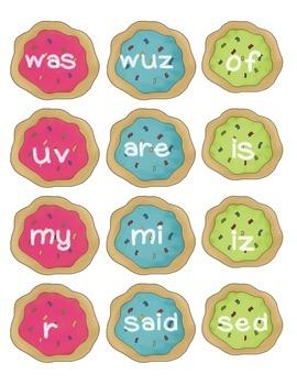 Cookie Jar Sort - Real or Nonsense Words