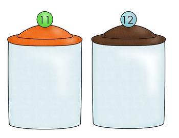Cookie Jar sorting - Sums 9-12