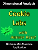 Cookie Lab (Factor-Label Method; Dimensional Analysis in C