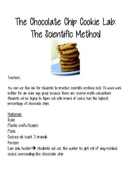 Cookie Lab: Scientific Method
