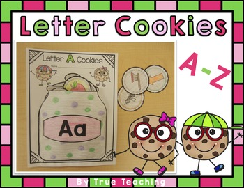 Cookie Letters A-Z