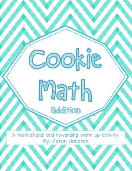 Cookie Math - Addition