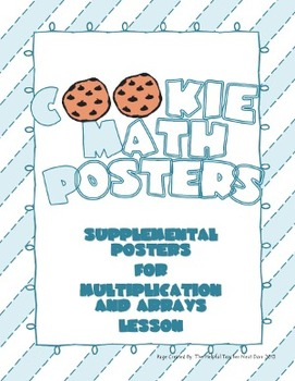 Cookie Math Posters