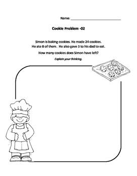 Cookie Math Problems