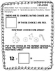 Cookie Math Subtraction to 12 (Two player math game printibles)