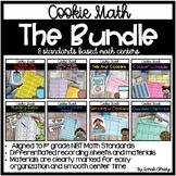 Cookie Math: The Bundle (Math Centers for 1st Grade NBT St