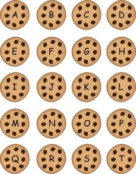 Cookie Monster Alphabet Game
