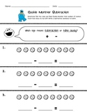"Cookie Monster ""Roll & Feed"" Subtraction Game"