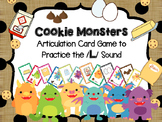 Cookie Monsters -- Articulation card game to practice /l/ sound - Speech Therapy