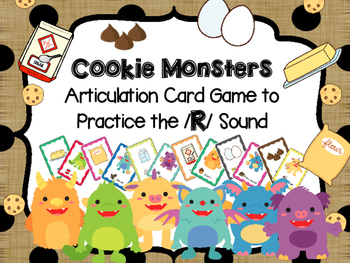 Cookie Monsters -- Articulation card game to practice /r/