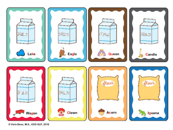 Cookie Monsters - Articulation card game to target /k/ /g/ sounds Speech Therapy