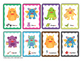 Cookie Monsters - Articulation card game to target /s/ /z/ sounds Speech Therapy